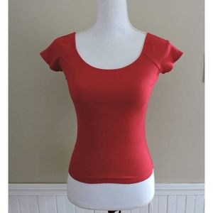 Reformation Red Top Size M